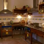 free guest kitchen with fridge, stove, oven, grill etc.
